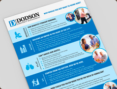 Dodson employee culture one pager