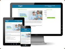 Pardot landing page for Owens and Minor